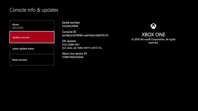 Новая версия прошивки Xbox One направилась к бета-тестерам