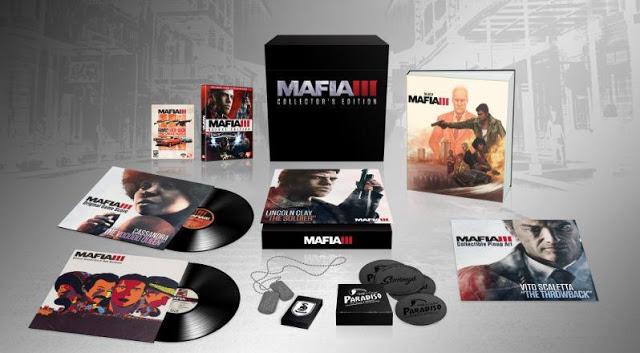Представлено коллекционное издание игры Mafia 3
