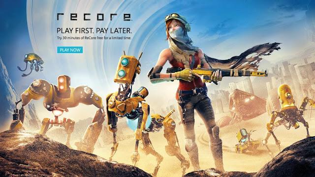 На Xbox One стала доступна демо-версия игры Recore