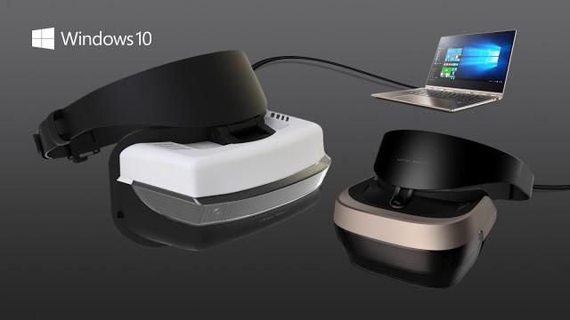Microsoft представила собственные очки виртуальной реальности
