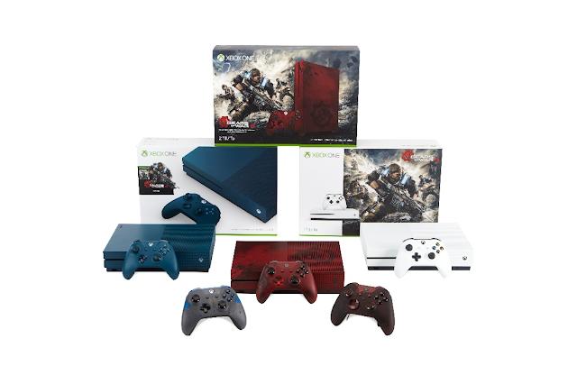 Анонсирован новый бандл Xbox One S с Gears of War 4