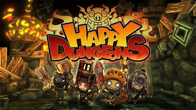 На Xbox One стала доступна бесплатно игра Happy Dungeons