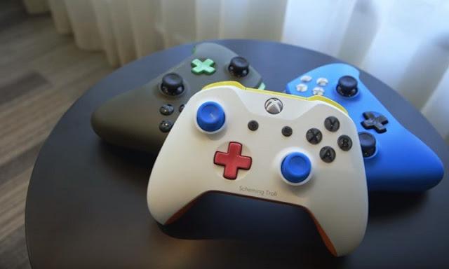 Шаблон для создания собственного геймпада Xbox One на 3D-принтере