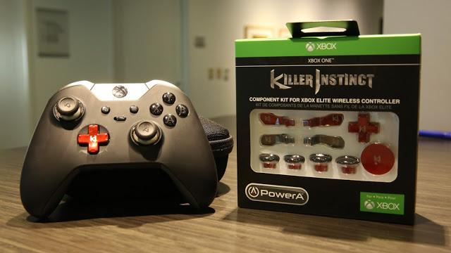 Набор аксессуаров для кастомизации Xbox One Elite в стиле Killer Instinct поступил  в продажу