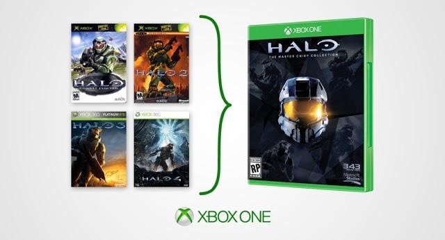 Распродажа: Сборник Halo Master Chief Collection (4 игры) для Xbox One за 320 рублей