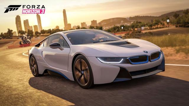 BMW i8 пополнит список автомобилей Forza Horizon 3 в январе