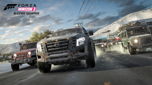 Дополнение Blizzard Mountain для Forza Horizon 3: подробности и трейлер