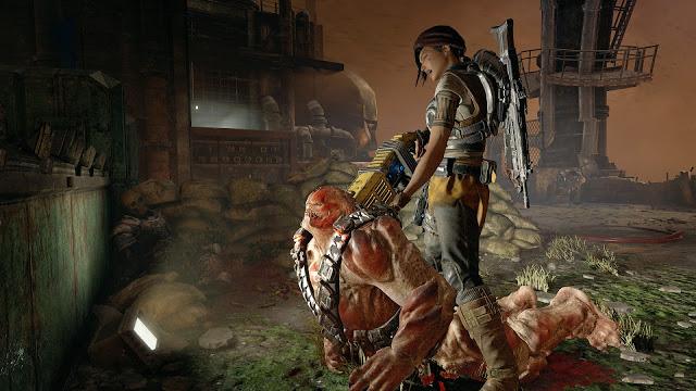 В Gears of War 4 используются «облачные технологии»