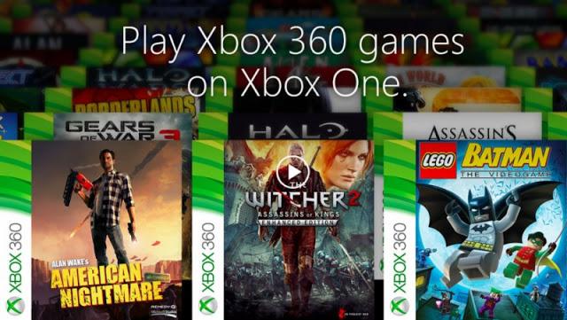 Около 20% всей библиотеки игр Xbox 360 доступны на Xbox One по обратной совместимости