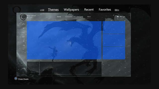 Theme My Xbox - программа для настройки фонового изображения на Xbox One