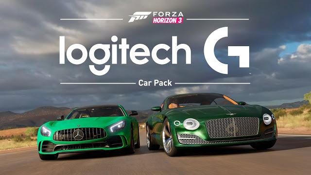 Стал доступен набор автомобилей Logitech G для Forza Horizon 3
