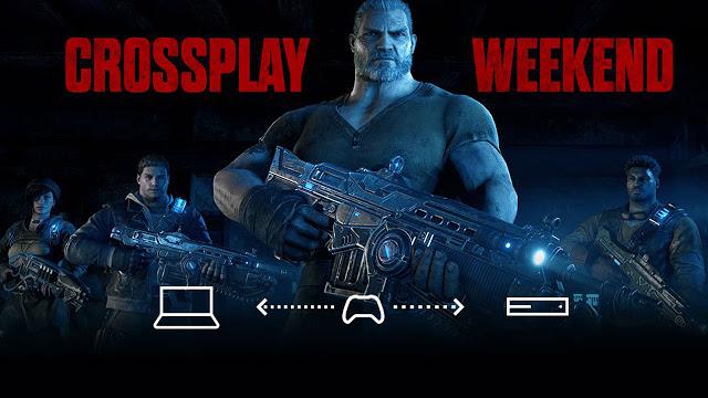 На выходных в Gears of War 4 станет доступен кросс-платформенный мультиплеер