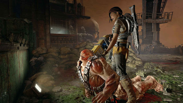 Сравнение разрешения 4K нативного и апскейла на примере Gears of War 4