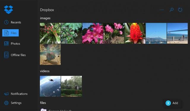 Приложение DropBox стало доступно на приставке Xbox One