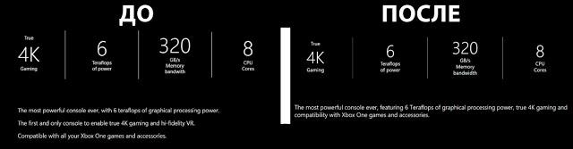 Microsoft убрала из особенностей Project Scorpio поддержку виртуальной реальности