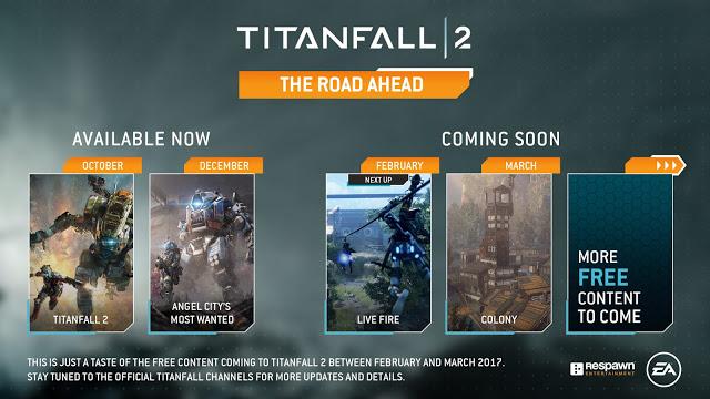 Анонсированы два новых бесплатных DLC для Titanfall 2