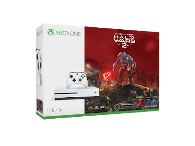 Microsoft представила бандлы Xbox One S с Halo Wars 2 и Forza Horizon 3