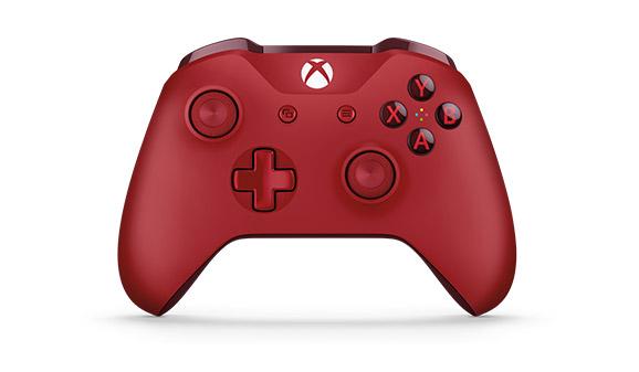 Microsoft представила новый геймпад в красном корпусе