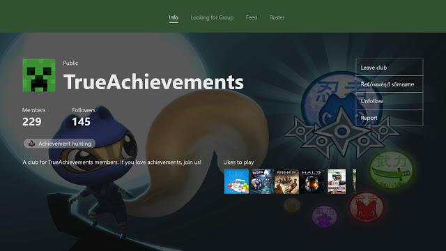 Microsoft предоставит разработчикам API для внедрения клубов Xbox Live в игры
