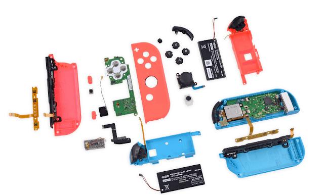 Специалисты iFixit разобрали приставку Nintendo Switch и оценили ее пригодность к ремонту