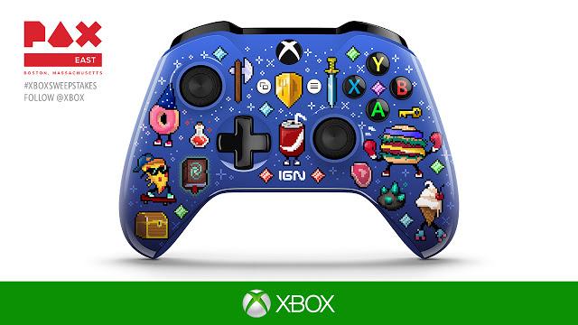 Microsoft представила коллекционные геймпады для мероприятия PAX East