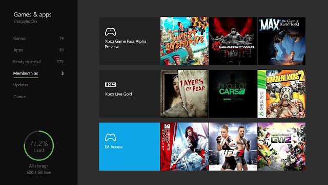 Анонсировано большое количество новых функций в прошивке Xbox One