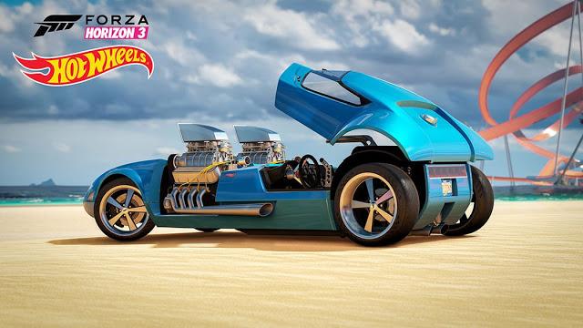 Список достижений Forza Horizon 3 Hot Wheels