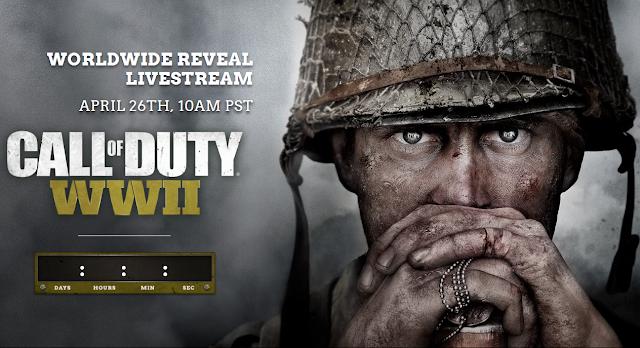 Издательство Activision официально анонсировало игру Call of Duty WWII