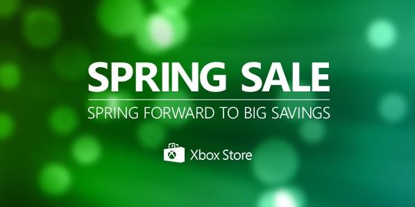 Microsoft объявила даты проведения весенней распродажи в Xbox Marketplace