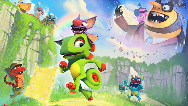 Yooka-Laylee будет доступна по программе Xbox Play Anywhere
