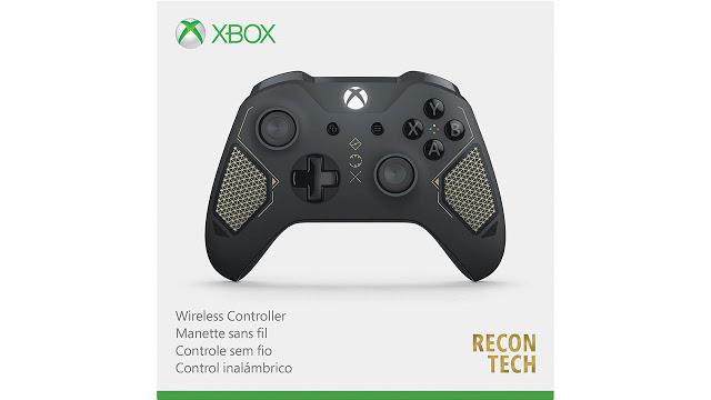 Microsoft представила новый геймпад - Xbox Recon Tech