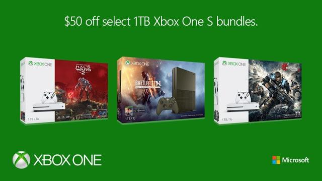 Microsoft снижает цены на Xbox One S в США
