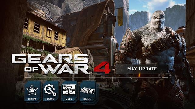 Майское обновление Gears of War 4: поддержка multi-GPU, новые карты