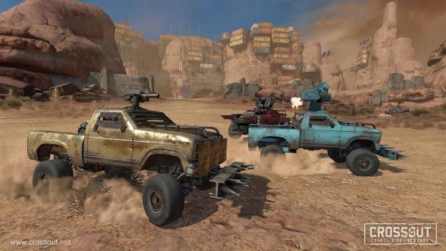 Постапокалиптический MMO-экшен Crossout стал доступен на Xbox One бесплатно