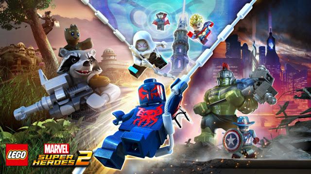 Состоялся анонс игры Lego Marvel Super Heroes 2: первый тизер, дата релиза