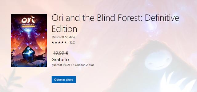 Сейчас можно обновить бесплатно игру Ori and the Blind Forest до расширенного издания