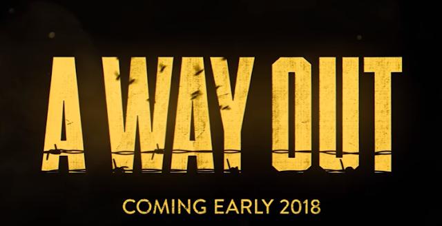 E3 2017: Анонсирована новая игра от EA - A Way Out: подробности и трейлеры