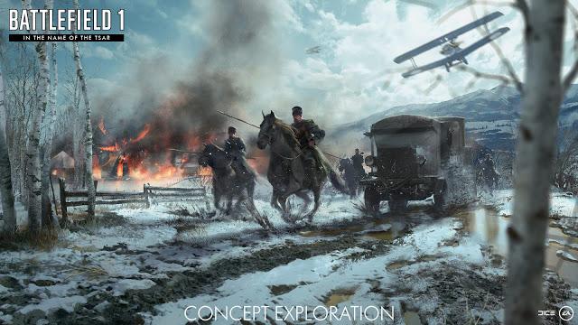 E3 2017: Дополнение In The Name of The Tsar для Battlefield 1 – подробности и трейлер