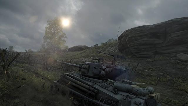 Первые скриншоты World of Tanks для Xbox One X в разрешении 4K