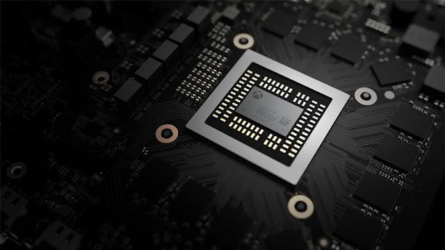 Microsoft предлагает посмотреть, из каких компонентов состоит Xbox One X
