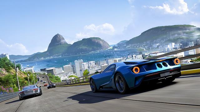 Эволюция игр серии Forza с 2005 года по настоящее время