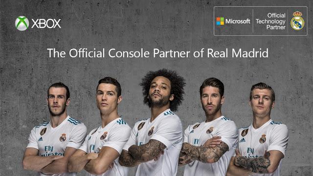 Xbox теперь является официальным партнером футбольного клуба Реал Мадрид