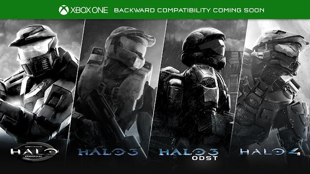 Четыре игры серииHalo станут доступны на Xbox One по обратной совместимости