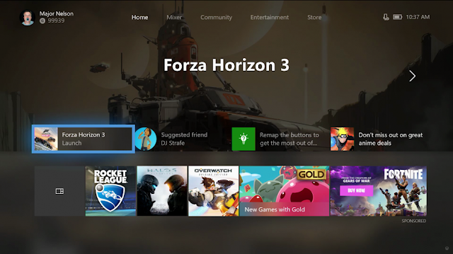Крупное обновление прошивки Xbox One: новый Fluent дизайн, измененный главный экран и другое