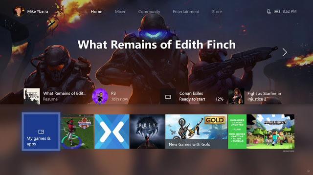 Новая альфа-версия прошивки Xbox One: список изменений