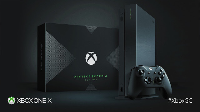 Microsoft официально анонсировала приставку Xbox One X Project Scorpio Edition