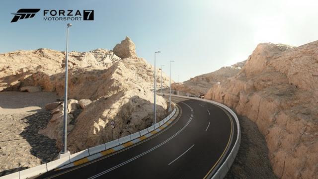 Полный список трасс игры Forza Motorsport 7