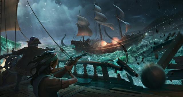 В Sea of Thieves можно будет поиграть в 540p при 15 FPS