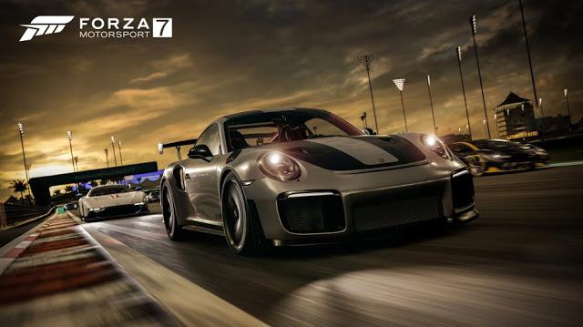Сравнение Forza Motorsport 7 на Xbox One S и Xbox One X