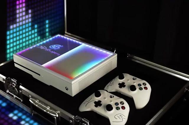 Microsoft выпустила уникальную Xbox One S со встроенной светомузыкой
